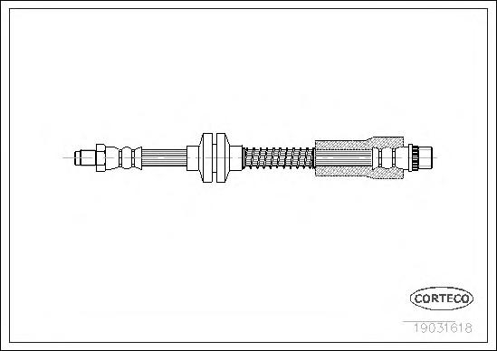 Шланг тормозной FIAT: SCUDO фургон 1.6/1.9 D/1.9 TD/2.0/2.0 JTD 96-06, ULYSSE 1.8/1.9 TD/2.0/2.0 16V/2.0 JTD/2.0 Turbo/2.1 TD 94-02