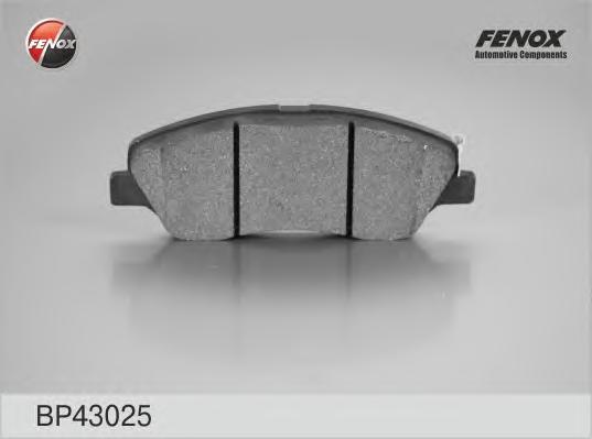 Колодки диск Hyundai Santa Fe 05, Kia Sorento 09- BP43025