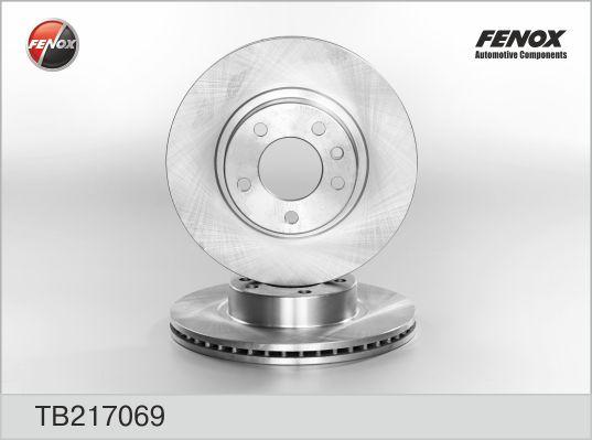 Диск тормозной передний Opel Omega 2,0 94- TB217069