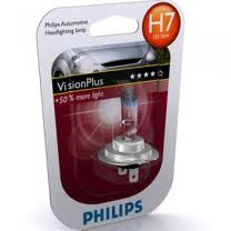 Лампа H7 (55W) PX26d Vision Plus +60% 12V 12972VP B1 39936330