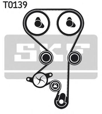 Комплект ремня ГРМ Opel Astra/Zafira 1.4-1.8 16V 98