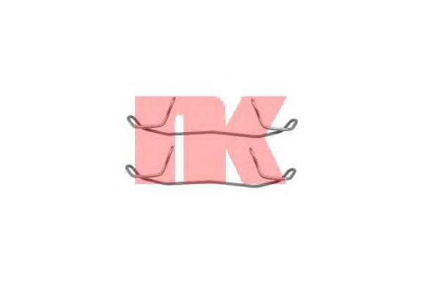 Монтажный комплект передних колодок / AUDI,FORD,OPEL,SEAT,SKODA,VW 90~
