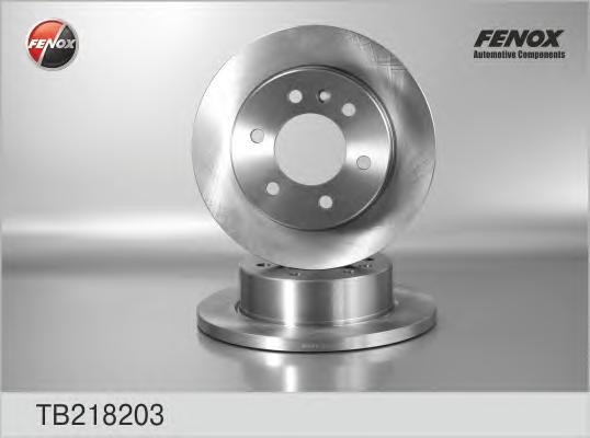 Диск тормозной задний MB Sprinter 06-/VW Crafter 06- TB218203