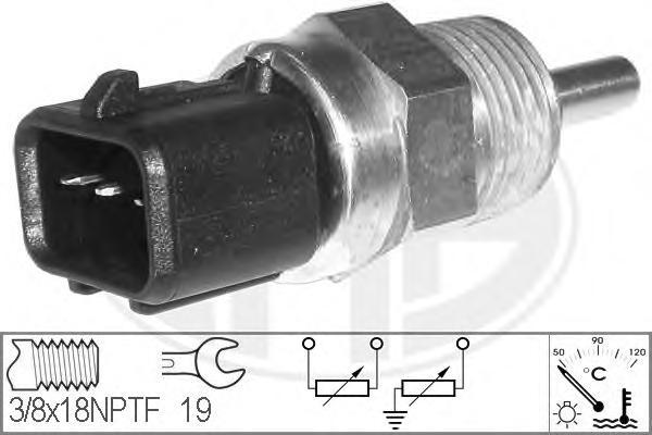 Датчик температуры ERA 330632 Sonata 5 в корпус термостата 3конт