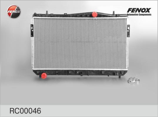 Радиатор FENOX RC00046 Chevrolet Lacetti 1.6-1.8 mкпп
