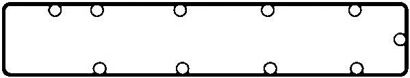 Прокладка крышки ГБЦ полиакриловый каучук 11086600