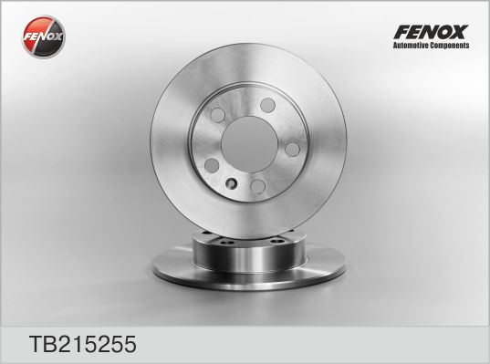 Диск тормозной задний SKODA Fabia 99-, Octavia 96-04, VW Golf 97-03 TB215255