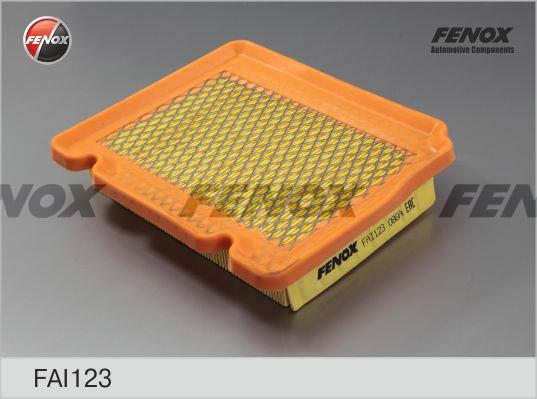 Фильтр воздушный Chevrolet Aveo 05- 1,2-1,5, Kalos 05- 1,2, 1,4 FAI123