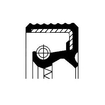 Уплотняющее кольцо, ступица колеса