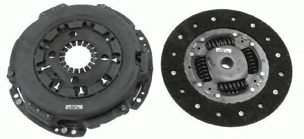 Комплект сцепления FIAT: DUCATO Box (250), DUCATO Bus (250), DUCATO Platform/Chassis (250)