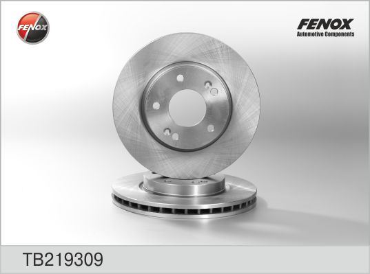 Диск тормозной передний Hyundai Elantra 1,6 HD 06-11 TB219309