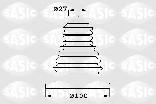 Пыльник ШРУСа внутренний SKODA OCTAVIA (1Z) 1.4/1.6 1906033