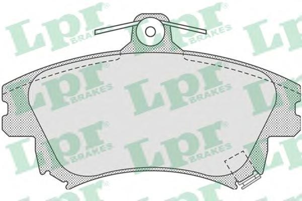 Комплект тормозных колодок 05P711