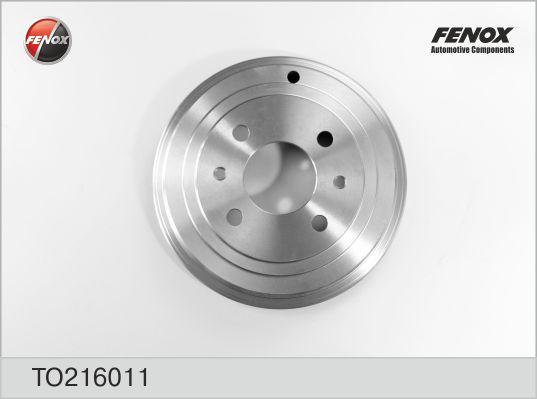 Барабан тормозной FIAT 500 07-, Brava/Bravo 95-01, Punto 94- TO216011