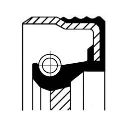 Сальник масляного насоса AUDI: 100 2.0/2.0 E/2.3 E/2.3 E quattro/2.8 E/2.8 E quattro 90-94, 100 Avant 2.0 E/2.0 E quattro/2.3 E/2.3 E quattro/2.8 E/2.8 E quattro 90-94, 80 1.