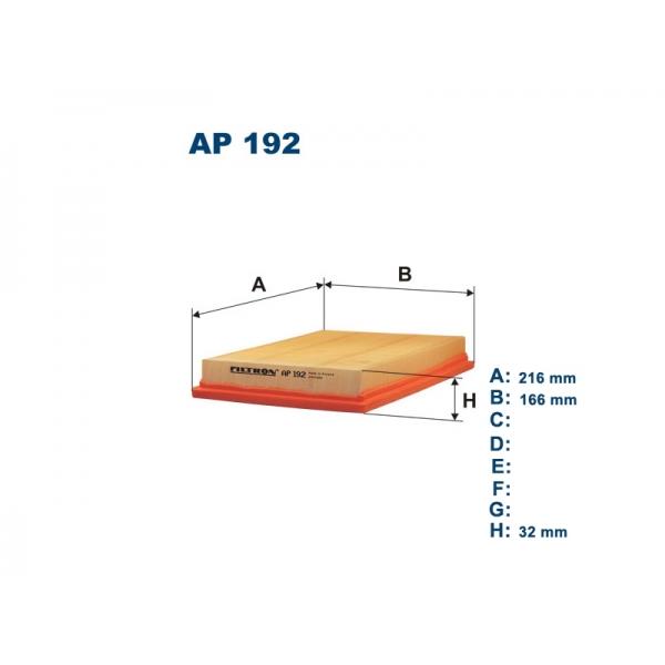 Фильтр воздушный AP192