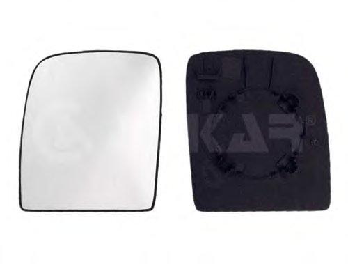 Стекло зеркала лев, верхн, выпукл CITROEN: JUMPY (2006-) / FIAT: SCUDO (2007-) / PEUGEOT: EXPERT (2007-)