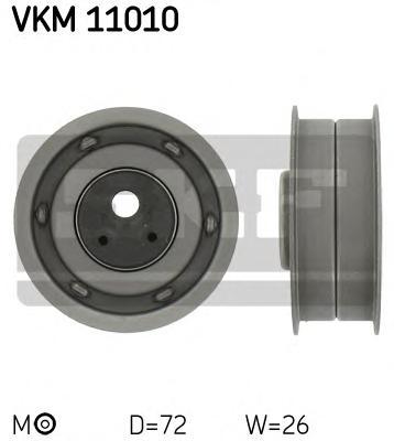 Ролик натяжной ремня ГРМ Audi 80 1.6D 80-91, 1.9D 89-94, 90 1.6D 85-91, VW