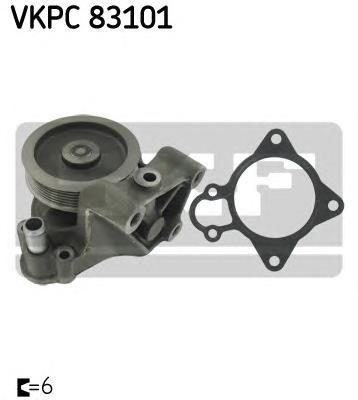 Помпа PSA Jumper/Boxer, Fiat Ducato 3.0D 06-