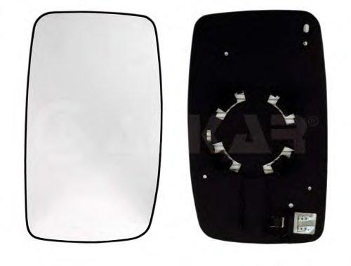 Стекло зеркала лев выпукл, с подогр CITROEN: JUMPY (2006-) / FIAT: SCUDO (2007-) / PEUGEOT: EXPERT (2007-)