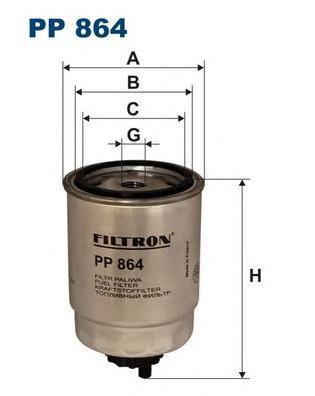 Фильтр топливный PSA Saxo, Xsara, 106, FI Breva