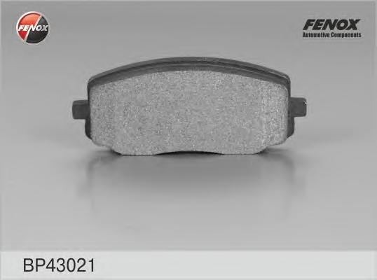 Колодки передние Kia Picanto 04- BP43021
