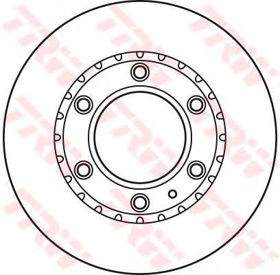 Диск тормозной передний MAZDA B-SERIE (UN), BT-50 (CD, UN) DF6034S