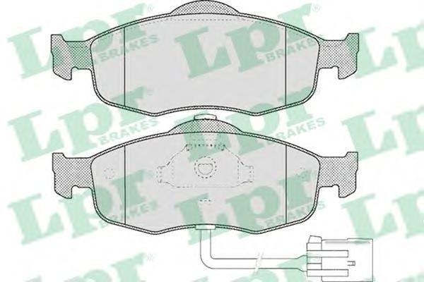 Колодки тормозные LPR 05P461 FORD Mondeo с датчиком