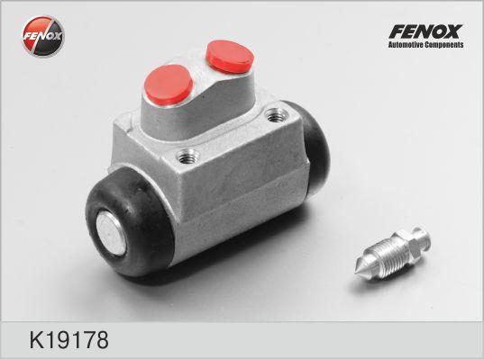 Цилиндр колесный правый HONDA Civic 91-01, HYUNDAI Accent 00-06, Elantra 00- K19178