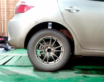 Eibach Pro-Kit на Toyota Auris