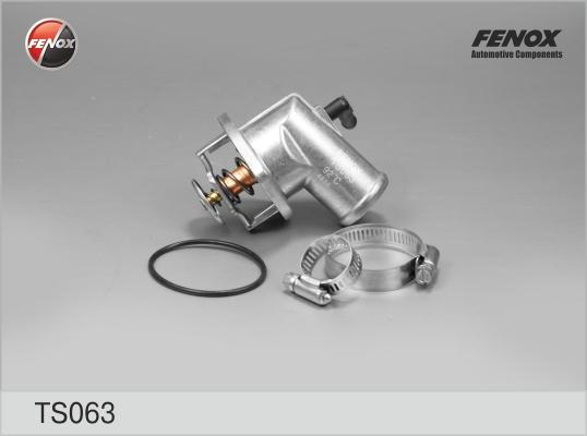 Термостат FENOX TS063 Opel Astra/Corsa/Vectra 1.4/1.6 94-