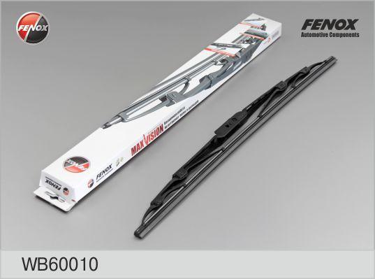 "Щетка с/о FENOX WB60010 600 мм (24""); каркасная ""крючок"" универсальная"