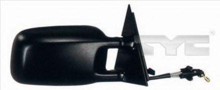 Зеркало наружное в сборе прав, мех, выпукл VW: PASSAT (B3) - 88-93 , PASSAT (B4) - 93-96