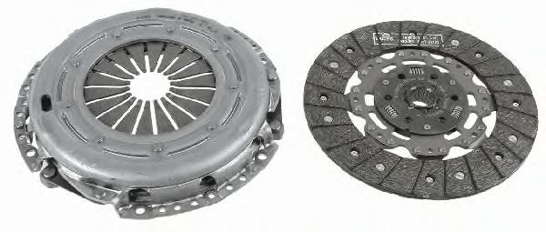 Комплект сцепления Ford Focus II/C-Max, Mazda 3, Vovlo S40 II 1,6D (03-) 3000970002