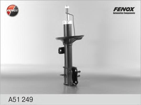 Амортизатор FENOX a51249 Chevrolet Aveo 05-/ZAZ Vida 2012- пер.газ.R