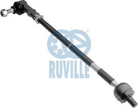 Тяга рулевая RUVILLE 915453 VW Golf-III в сборе R (ГУР TRW) =1H0422804