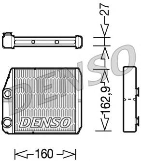 Радиатор отопителя салона FI Ducato 06-