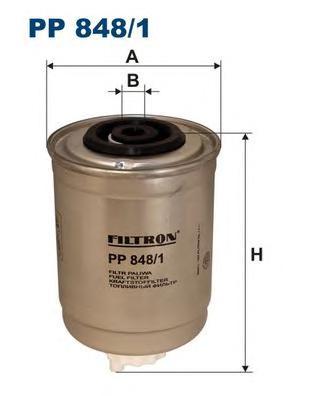 Фильтр топливный PP848/1