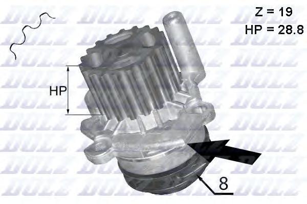 Насос водяной A-224