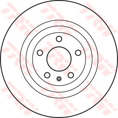 Диск тормозной передний FIAT DUCATO (250) 300мм DF4751S