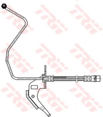 Шланг тормозной TRW PHD564 OPEL ASTRA H задн R (для задн бараб)