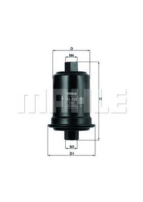 Фильтр топливный HYUNDAI Sonata II III IV 1.8/2.0/2.5/3.0 5/93->,