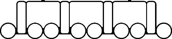Прокладка коллектора VW Passat 2.0TDi AZV 03> In