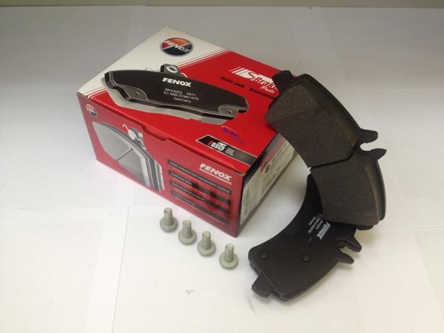Колодки задние MB Sprinter II 4,6t/5t 06-, VW Crafter 30-35/30-50 06- BP43070