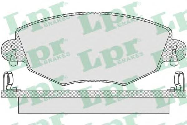 Комплект тормозных колодок 05P865