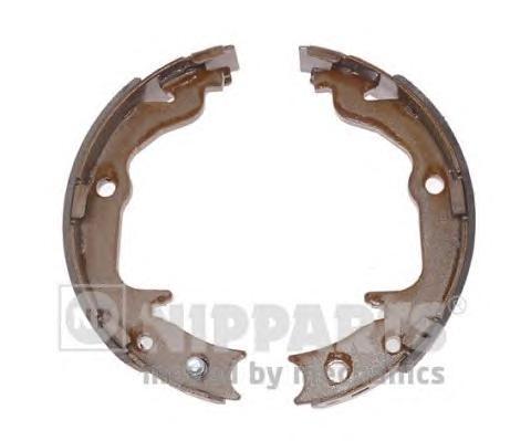 Колодки ручного тормоза NIPPARTS N3505045 Lancer X / ASX 167*32