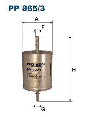 Фильтр топливный PP865/3