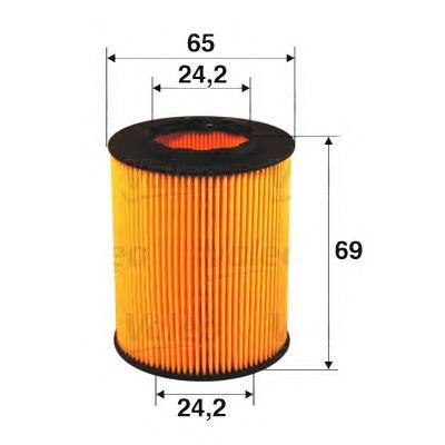 Фильтр масляный VALEO 586503 FORD FOCUS/MONDEO/TRANSIT 2.0D-3.2D/PEUGEOT 206-407 1.1-2.0