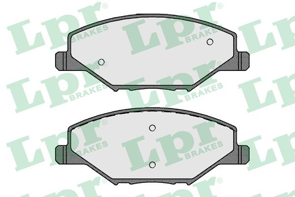 Колодки тормозные дисковые 05P1795