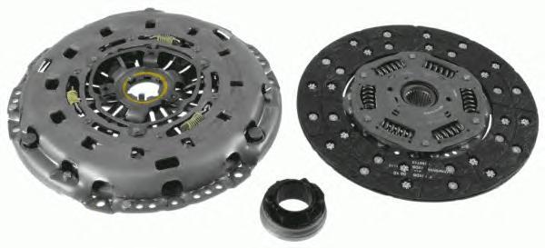 Сцепление SACHS 3000951905 VW Touareg 2.5TDI (диск+корзина)